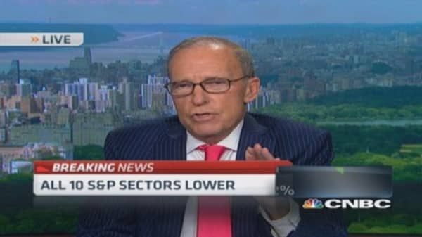 Kudlow: Add to retirement accounts now