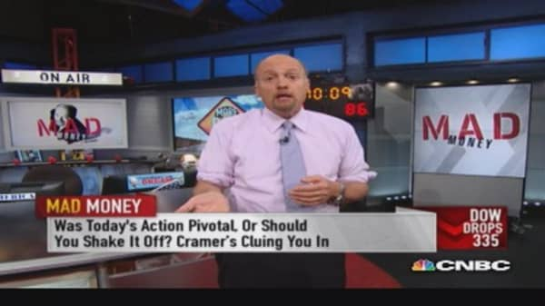 Cramer: We are in a treacherous market