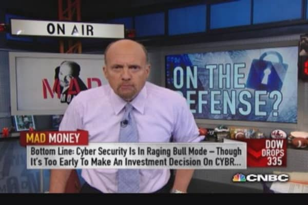 Cybersecurity space in raging bull mode: Cramer