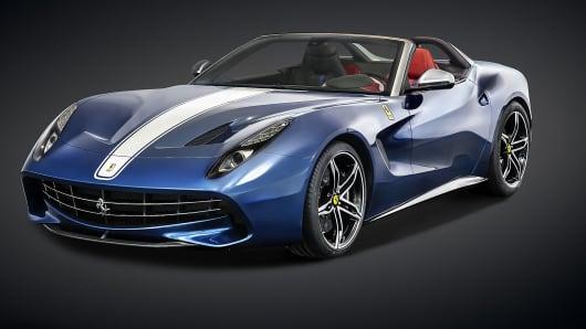 The Ferrari F60America.