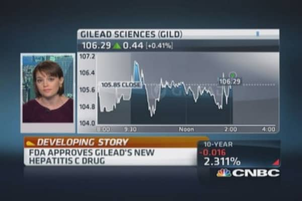 FDA approves Gilead's Hepatitis C drug