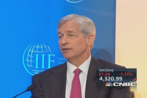 Big bank CEOs worried about global economy
