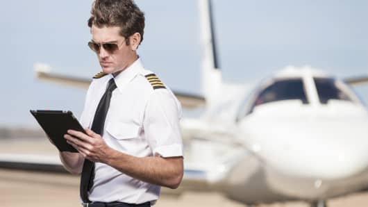 Airline pilot aviation