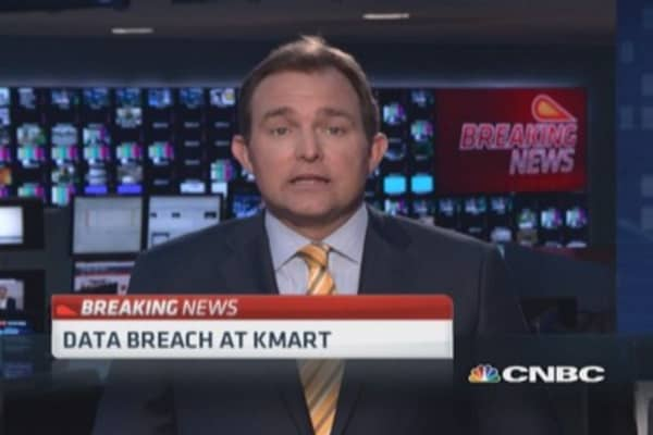 Data breach at Kmart