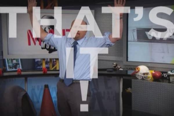 Cramer: How I'll spot the market bottom