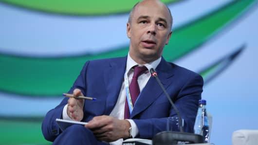 Anton Siluanov, Finance Minister of Russia.