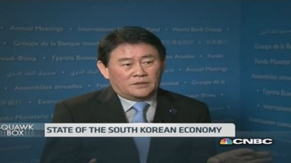 South Korea Fin Min: Global recovery still fragile