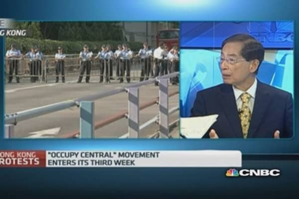 HK politician: This is the fight of HK youths