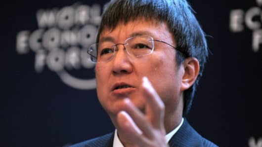 Deputy managing director of the International Monetary Fund, Zhu Min.