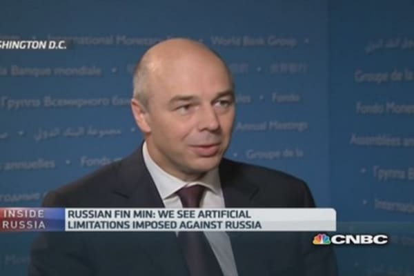 Russia is open for business: Fin Min