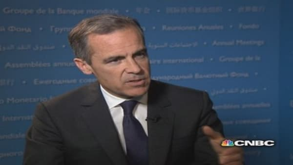 Bank of England's Carney: On global growth