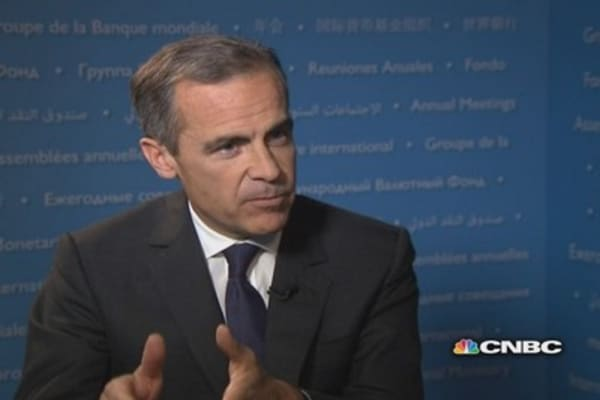 Bank of England's Carney: In Draghi we trust