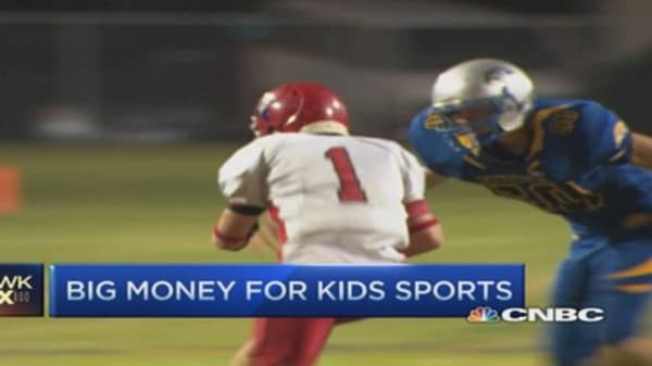 Big money for kids sports