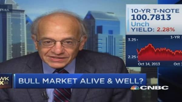 Siegel: Sticking with Dow 18,000