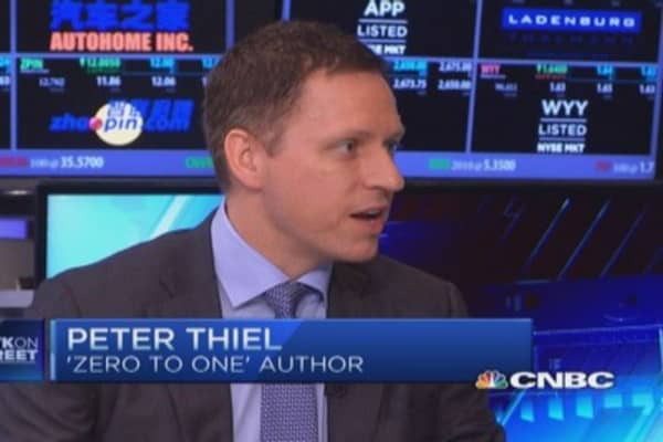 Thiel: EBay-PayPal split makes sense