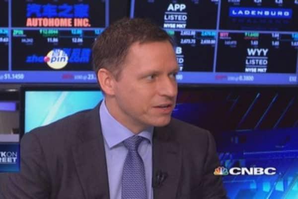 Thiel's bitcoin play