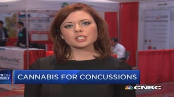 Cannabis for concussions