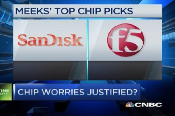 Chip picks: SanDisk, F5 & more