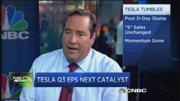 Tesla's post 'D' day slump