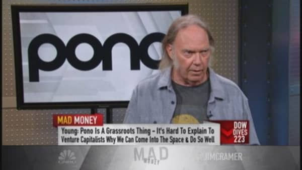 Neil Young's new music venture