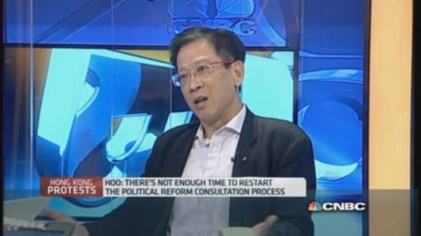 Tracking the tug-of-war for democracy in HK