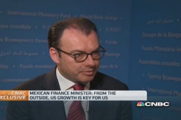 We need strong US growth: Mexico FinMin