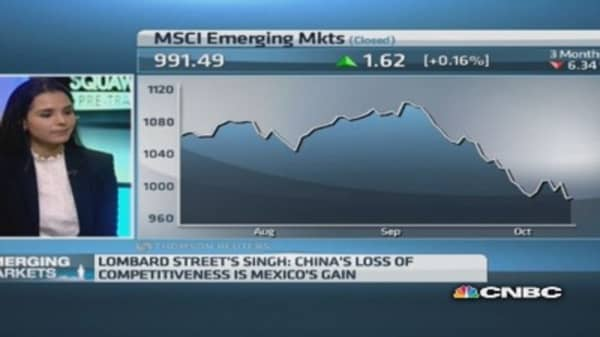 The 4 issues plaguing emerging markets