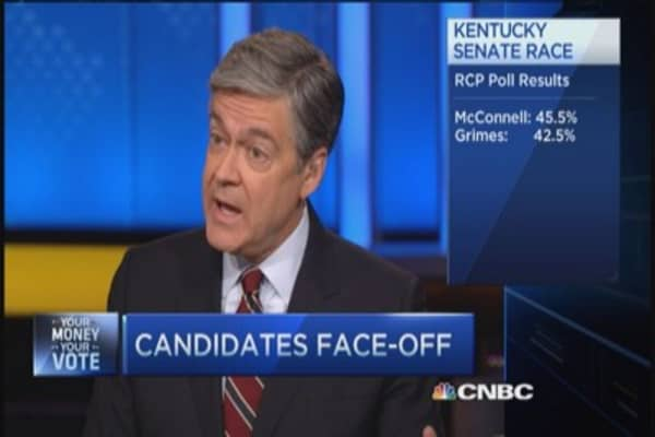 Kentucky face-off for Senate seat