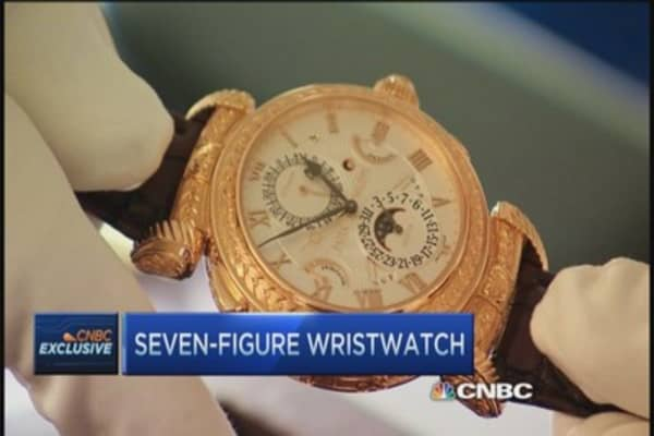 $2.6 million wrist candy for the super rich