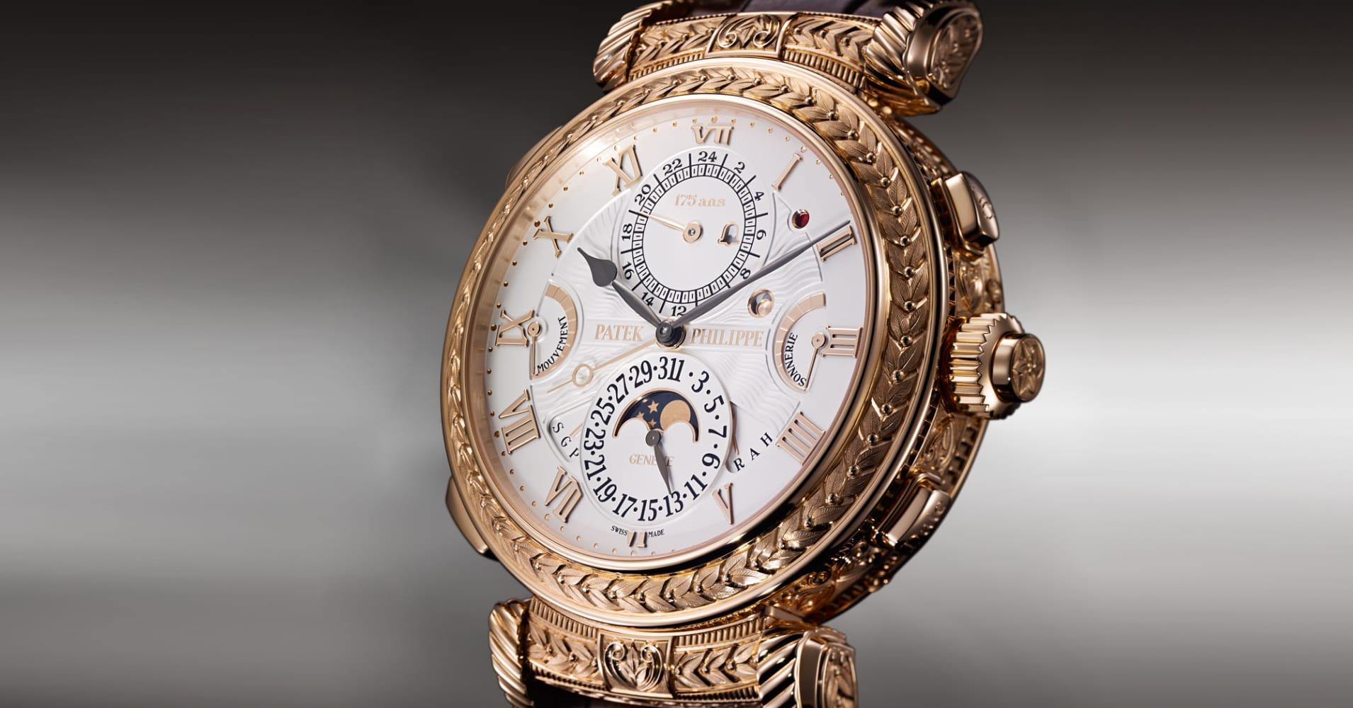 Patek philippe unveils 2 6m watch for Patek watches