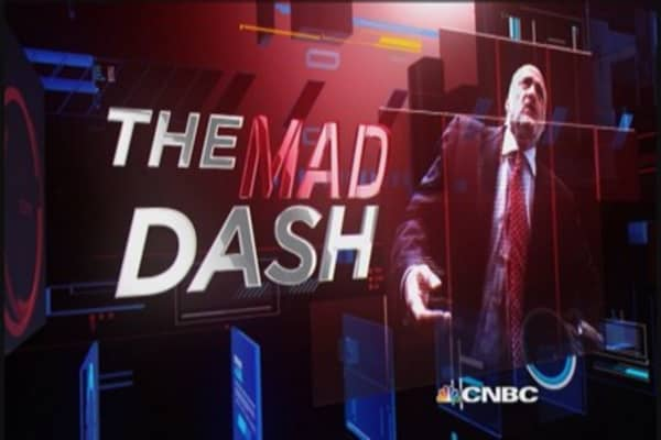 Cramer's Mad Dash: Watch SWKS