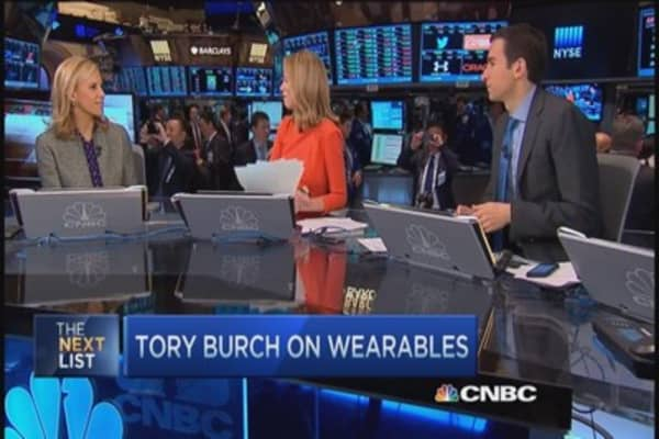 Tory Burch: Love partnering with Fitbit