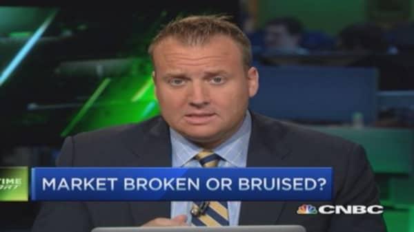 Market broken or bruised?