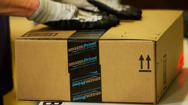 Amazon Prime box, Amazon Prime