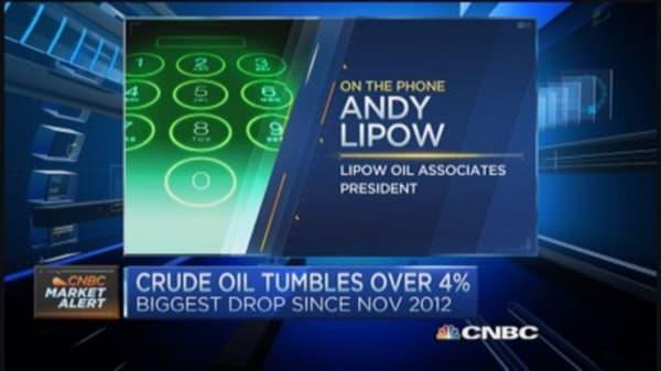 Oil market crush