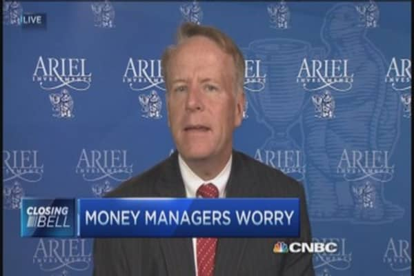 Money managers worry