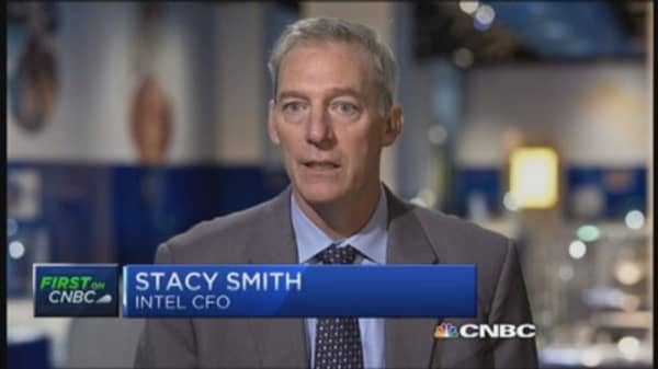 Intel CFO: Lagging emerging markets not unusual