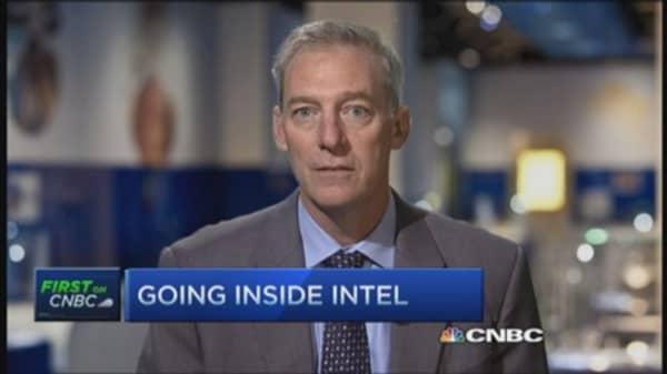 Intel CFO says Microchip plays in different segment