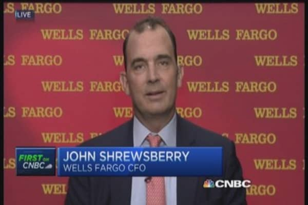 Wells Fargo CFO on 'give us a raise' email