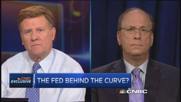 Fed behind the curve: Fink