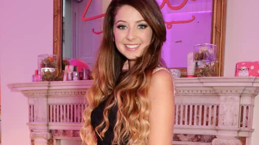 YouTube star Zoella