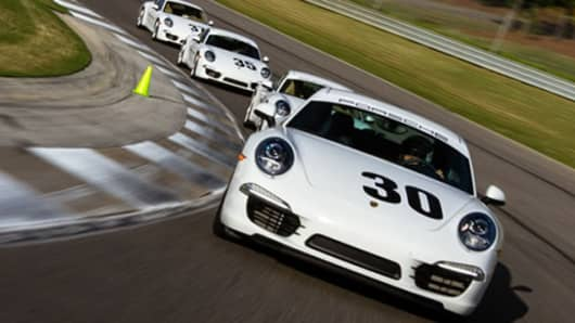 Want to see how fast your Porsche can go? Porsche Sport Driving School
