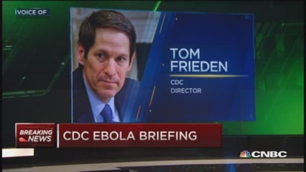 CDC outlines contacts of confirmed Ebola cases