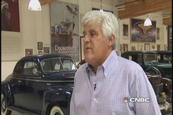 Leno on Tesla: 'We've reached the point where success is jeered'