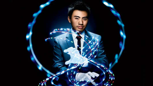 Brian Lim, founder of EmazingLights.