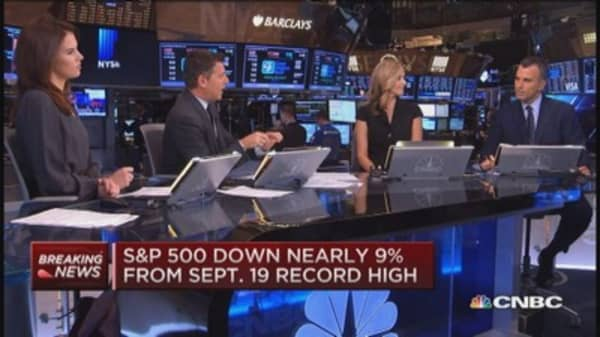 Closing Bell Exchange: Capitulation selling?