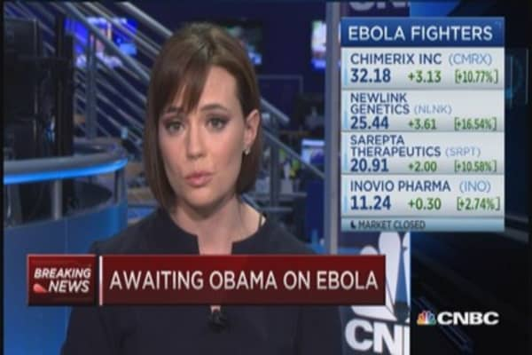 WH acknowledged shortcomings in response to Ebola