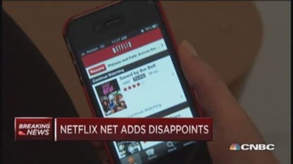 Netflix nosedive