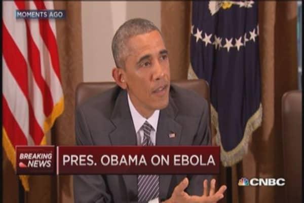 Pres. Obama: Ebola protocols work