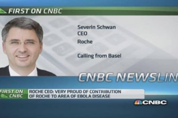 Roche CEO on Ebola outbreak